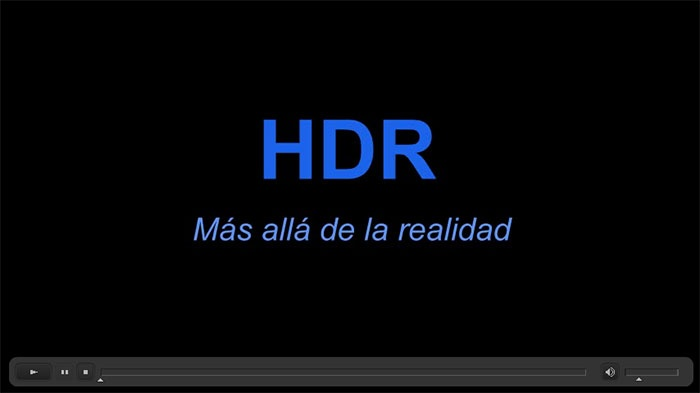 Video sobre HDR